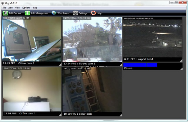 Webcam Surveillance Software