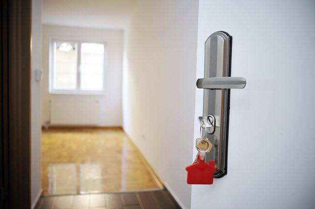 new apartment keys